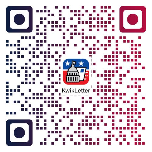 QR Code - static KwikLetter Apple App Store