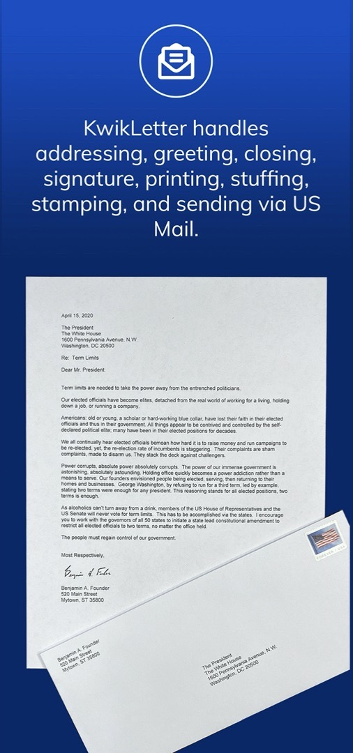 Screen Shot - Letter and Envelope